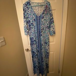Lilly Pulitzer maxi dress